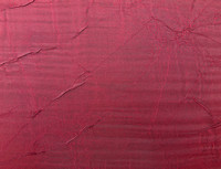 Burgundy crushed silk texture